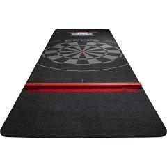 Bulls Carpet Dart mat 300x95 cm Black + Houten Oche