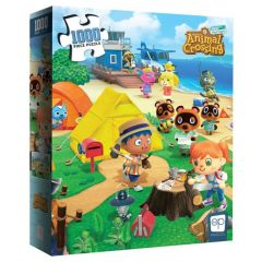 Animal Crossing: New Horizons Welcome to Animal Crossing 1000-Piece Puzzle