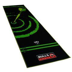 Dartmat Carpet Zwart / Groen 280x80
