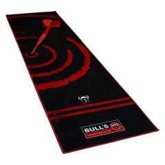 Dartmat Carpet Zwart / Rood 280x80