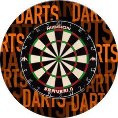 Designa Dartboard Surround - Design Collection - Heavy Duty - Darts