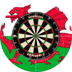 Designa Dartboard Surround - Design Collection - Heavy Duty - Wales