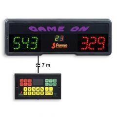 Favero Game On Digitaal Scoreboard met Afstandsbediening Bedraad