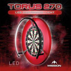 Mission Torus 270 LED Dartbord Verlichting SETS icm Dartborden en Surround