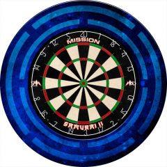 Mission Dartboard Surround - Heavy Duty - Design Collection - Code Blue