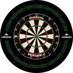 Mission Dartboard Surround - Heavy Duty - Design Collection - Green Reach