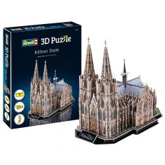 Cologne Cathedral 3D Puzzel (Dom Keulen)