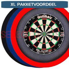 S4D Dartbord Verlichting Budget XL PAKKETVOORDEEL