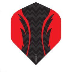 Archers Flights X100 Pro Black Red