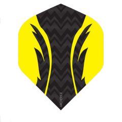 Archers Flights X100 Pro Black Yellow