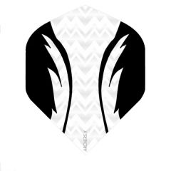 Archers Flights X100 Pro White Black