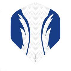 Archers Flights X100 Pro White Blue