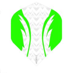 Archers Flights X100 Pro White Green