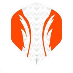 Archers Flights X100 Pro White Orange