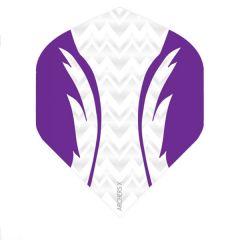 Archers Flights X100 Pro White Purple