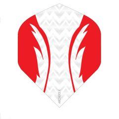 Archers Flights X100 Pro White Red