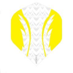 Archers Flights X100 Pro White Yellow