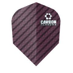 Harrows Flights Carbon Purple