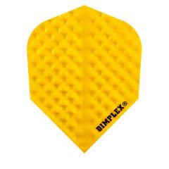 Harrows Flights Dimplex Color Yellow
