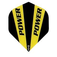 McCoy Flights Power Solid Black Yellow