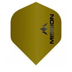 Mission Flight Logo 100 Gold