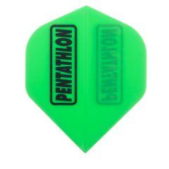 Pentathlon Flights Color Fluor Green