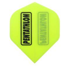 Pentathlon Flights Color Fluor Yellow