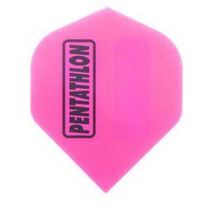 Pentathlon Flights Color Solid Pink