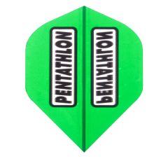 Pentathlon Flights Color Trans Green
