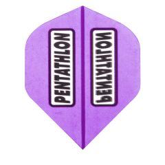 Pentathlon Flights Color Trans Purple