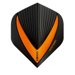 Victory Flights XS100 Std Vista-R Black Orange