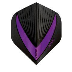 Victory Flights XS100 Std Vista-R Black Purple