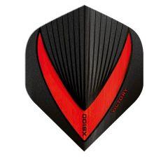 Victory Flights XS100 Std Vista-R Black Red