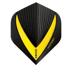 Victory Flights XS100 Std Vista-R Black Yellow
