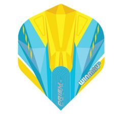 Winmau Flight Prism Alpha Blue & Yellow 208