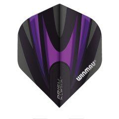 Winmau Flight Prism Alpha Black & Purple 157