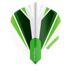Winmau Flight Prism White & Green 149