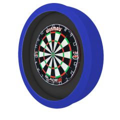 S4D Dartbord Verlichting XXL Duo Color Zwart Blauw