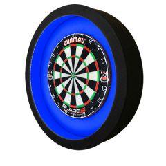 S4D Dartbord Verlichting XXL-I Duo Color Zwart Blauw