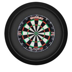 S4D Dartbord Verlichting XXL One Color Zwart