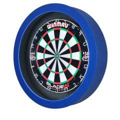 S4D Dartbord Verlichting STD DUO Color Zwart Blauw