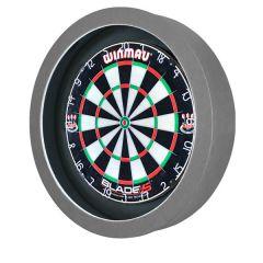 S4D Dartbord Verlichting STD DUO Color Zwart Grijs