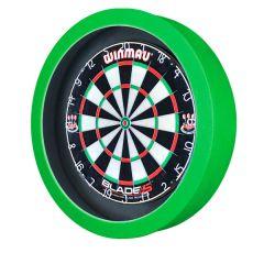S4D Dartbord Verlichting STD DUO Color Zwart Groen Neon