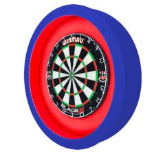 S4D Dartbord Verlichting XXL-I Duo Color Blauw Rood