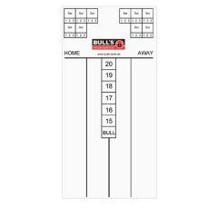 Bulls DE Scorebord 60x30cm