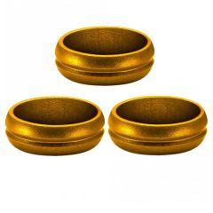 Mission F-Lock Slotlock Ring Gold