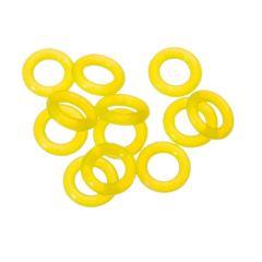 Target Ring Rubber 12 stuks Geel