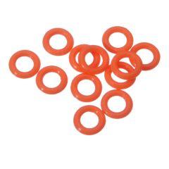 Target Ring Rubber 12 stuks Oranje
