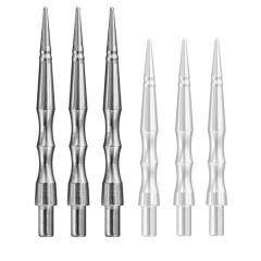 Harrows Dartpunt Apex Sabre Zilver-30 mm | OP=OP