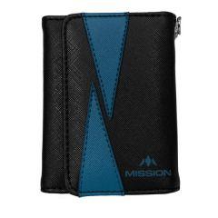 Mission Wallet Flint Black Blue